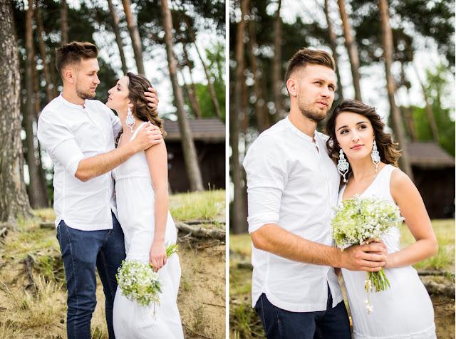 Biżuteria ślubna sutasz z cyrkoniami