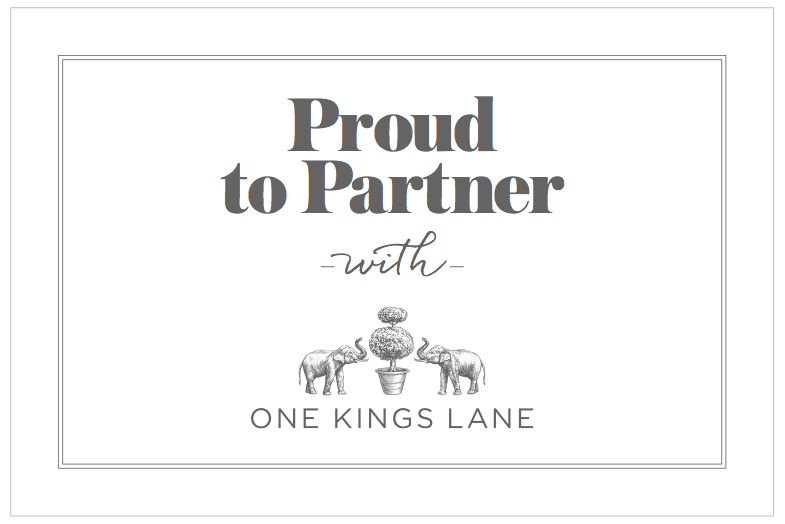I sell on One Kings Lane