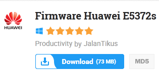 Firmware Huawei E5372s 2015 Free Download