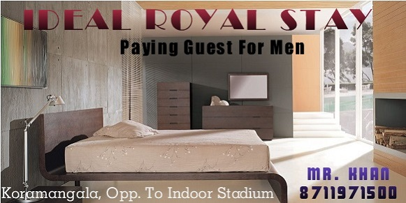 Paying Guest in bNaglore for men
