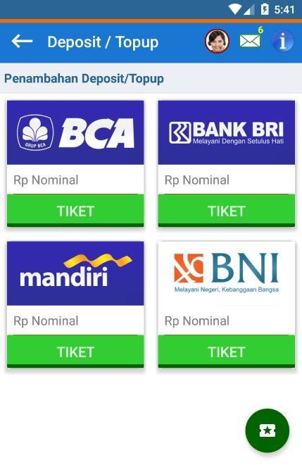 Cara deposit melalui bank bca