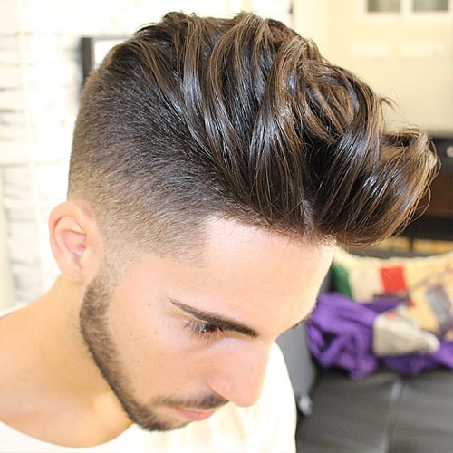 Mens Haircut With Shaved Temples Haircuts Hairstyles