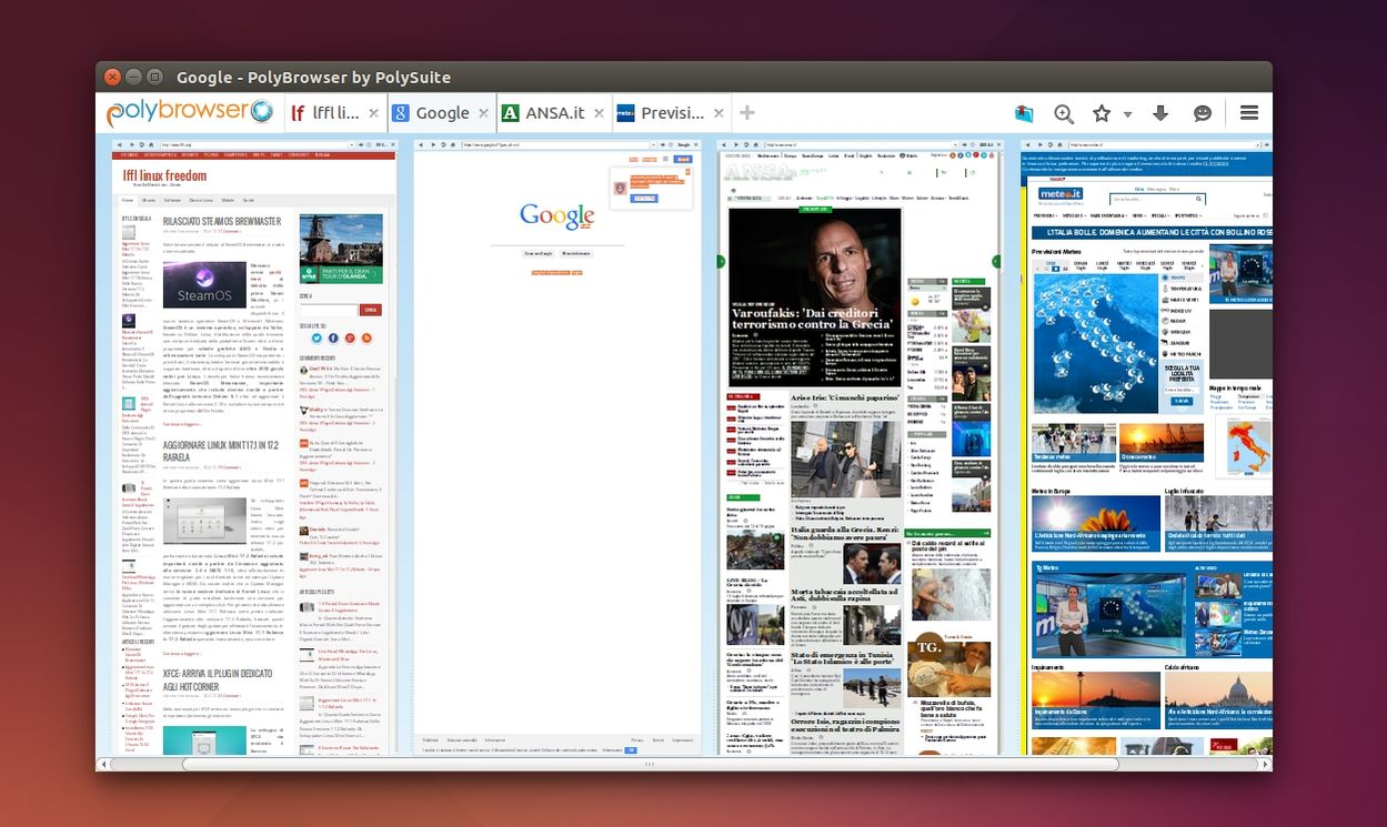 PolyBrowser in Ubuntu