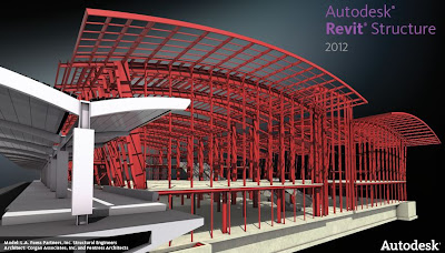 Steel Building in REVIT structure