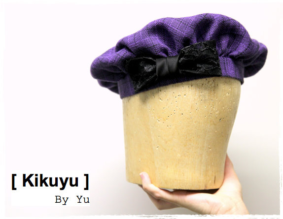 Millinery beret