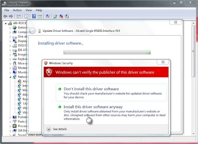 Cara install driver mediatek pada windows 7