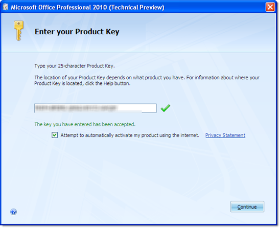 microsoft office 2007 with my product key