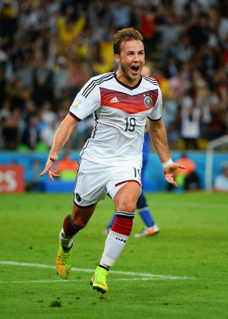 MARION GOTZE, THE MAN WHO SEALED IT FOR GERMANY.
