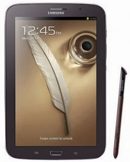 Gambar Samsung Galaxy Note 8 inch cokelat