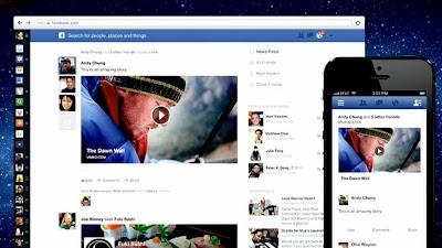 Facebook Offers More Visual Design