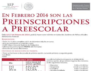 ... Inscripciones Primaria, Secundaria, Preescolar Convocatoria 2015