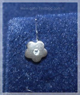 Miore Ohrstecker Blume 925 Sterling-Silber matt Zirkonia Aquamarin