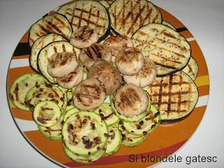 legume la gratar pentru paste