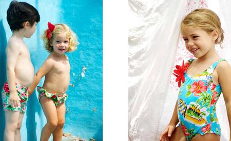 Especial ba o infantil oh soleil for Ropa de bano infantil