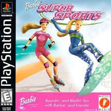 Download Barbie Super Sports games psx iso full version kuya028