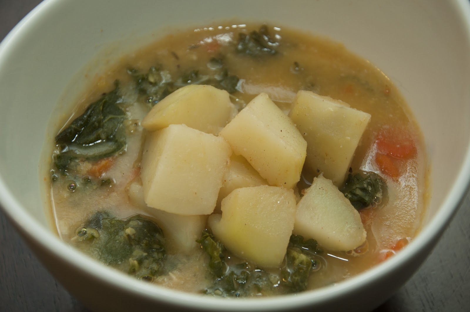 ... NA KULA: Kale, Lentil, Carrot and Red Potato Soup (Vegan & Vegetarian