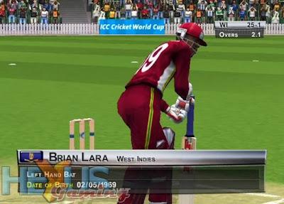 Brian Lara International Cricket 2005 Game Play