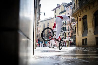 Un San Fermín sobre ruedas