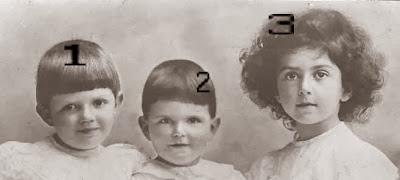 Iolanda, Umberto et Mafalda de Savoie