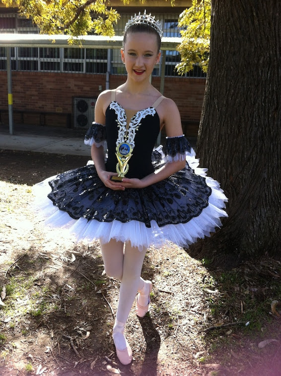 Classical tutu for Sarah H 2012