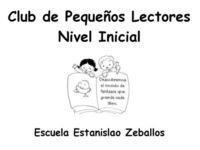 Club de pequeños lectores