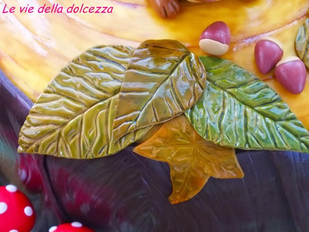 foglie e castagne