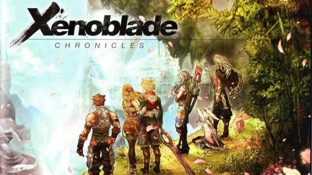 Xenoblade Chronicles art