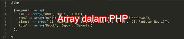 array dalam php