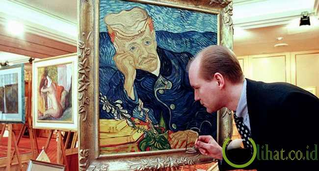 Portrait of Dr. Gachet karya Vincent van Gogh