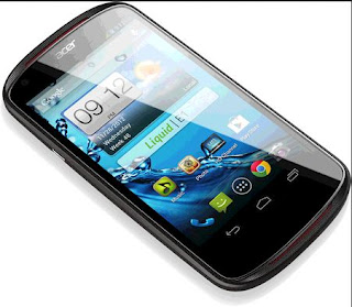 a New android phone from Acer Smartphone Liquid E1 V360, and also the specs and price