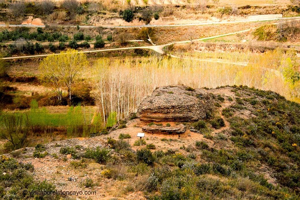Mirador de los Embalses Lombacos Torrellas Moncayo Sendero ruta
