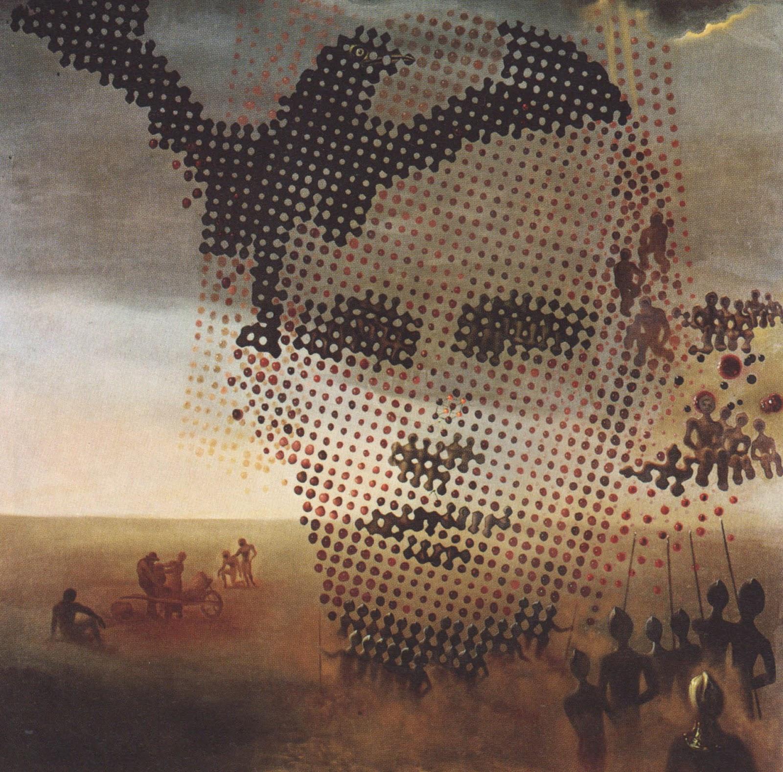 El retrato de mi hermano muerto (Salvador Dalí, 1963)