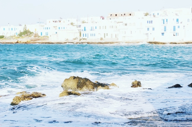 Natural beauty of Naoussa town,sea,wind,rocks,salt.Old port of fishing village of Naoussa in Paros.Paros island travel guide.What to see in Paros.Ostrvo Paros,ribarsko selo Naoussa,stara luka.