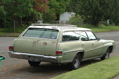 1970 Buick Estate Wagon.