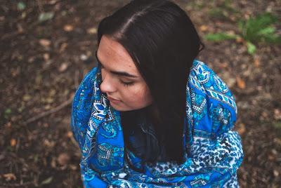 soul+flower+blue+tapestrry - Imagining Indigo Tapestry