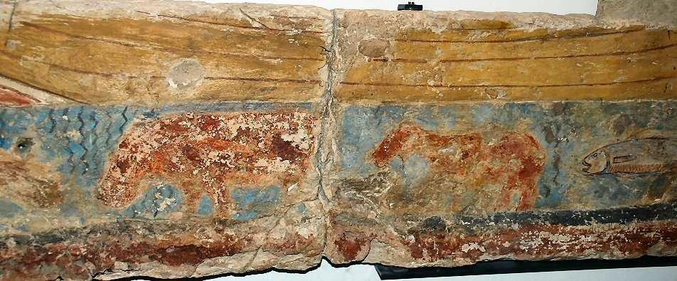 L 39 hippopotame une pr sence de poids dans l 39 gypte antique for Peinture crocodile