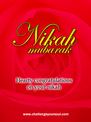 My-Sweet-Islam: Nikah Mubarak (Happy Marriage Greetings)