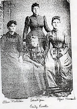 Ellen Matilda, Sarah Jane, Agnes Hannah and seated Emily Rosetta Edwards