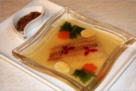 Рецепт заливной рыбы