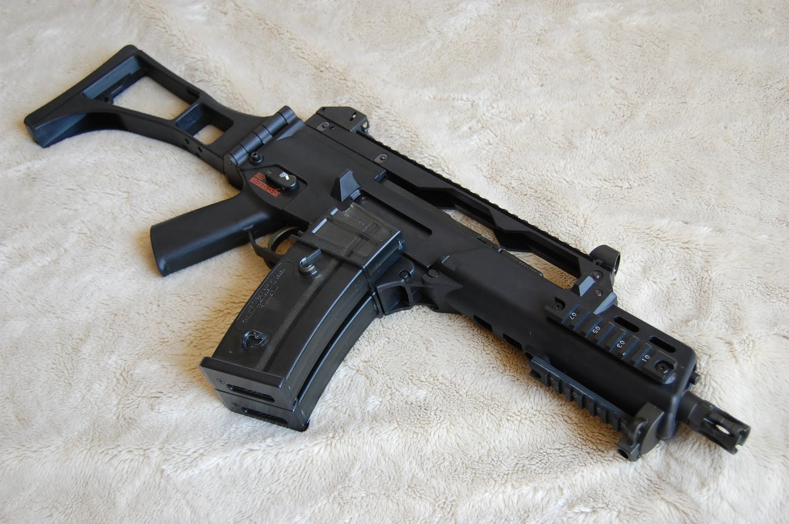 src g36c airsoft review liiterp