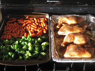 Paleo chicken dinner