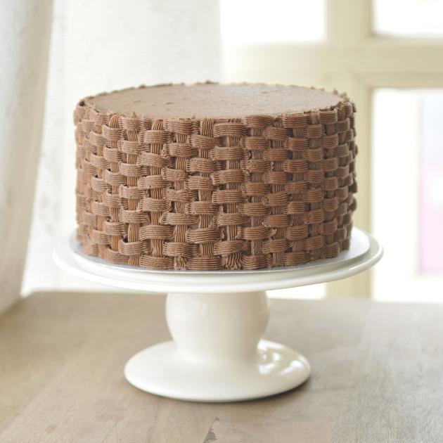 (de Mirasens) Tarta de chocolate (o la tarta que se creía cesta
