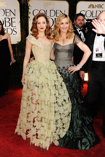 Madonna Golden Globes Reem Acra