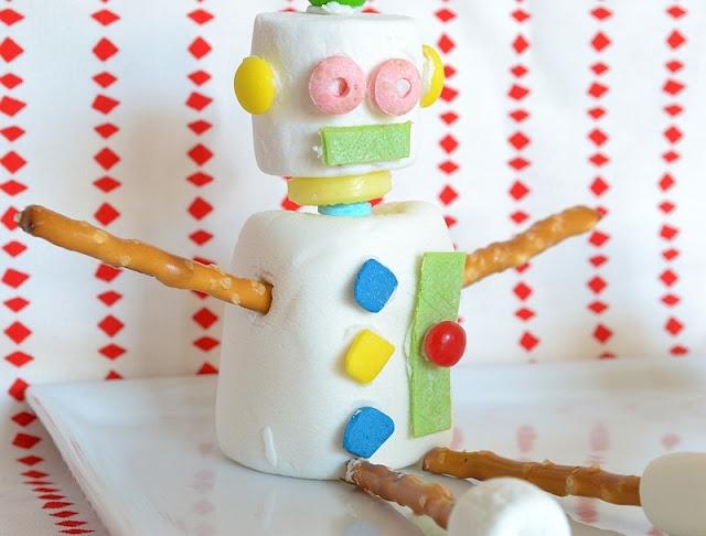 marshmallow robot