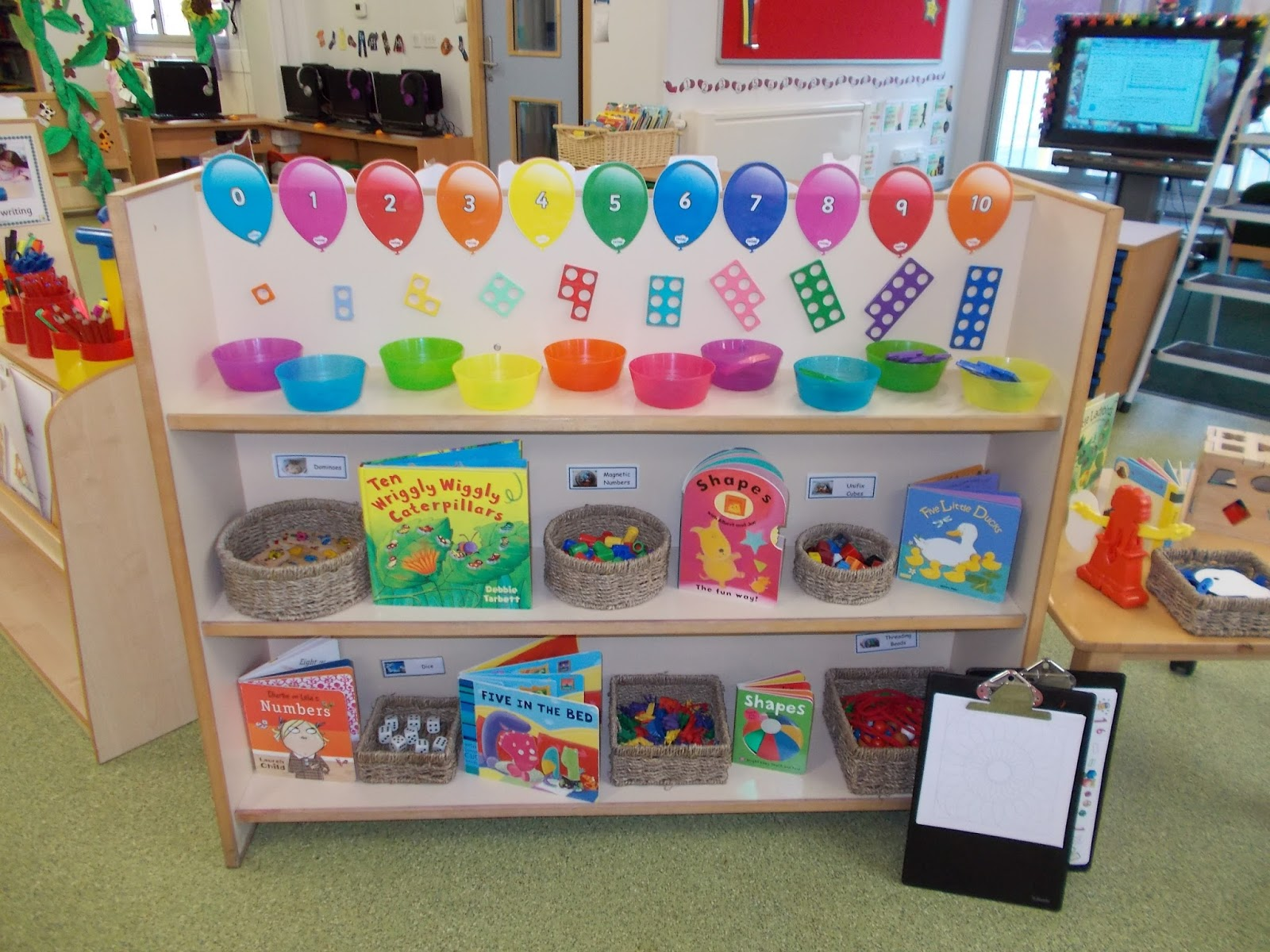 Number Area & Nursery Classroom - have a look at our new areas! | Robin Hood ...