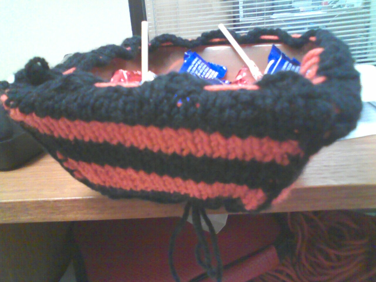 Zombie Knitting Bowl : Zombies knitting and time well wasted