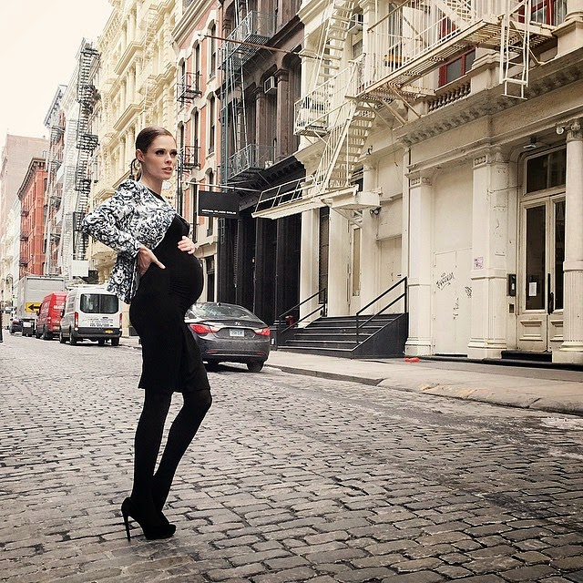 Coco Rocha Wears Seraphine in NYC