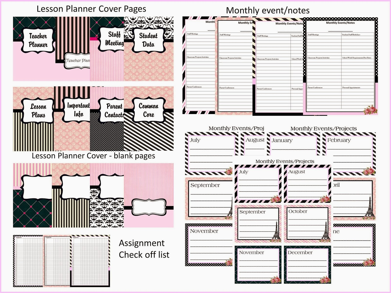 http://www.teacherspayteachers.com/Product/Teacher-Planner-2013-2014-Paris-Theme-pink-and-black-740895