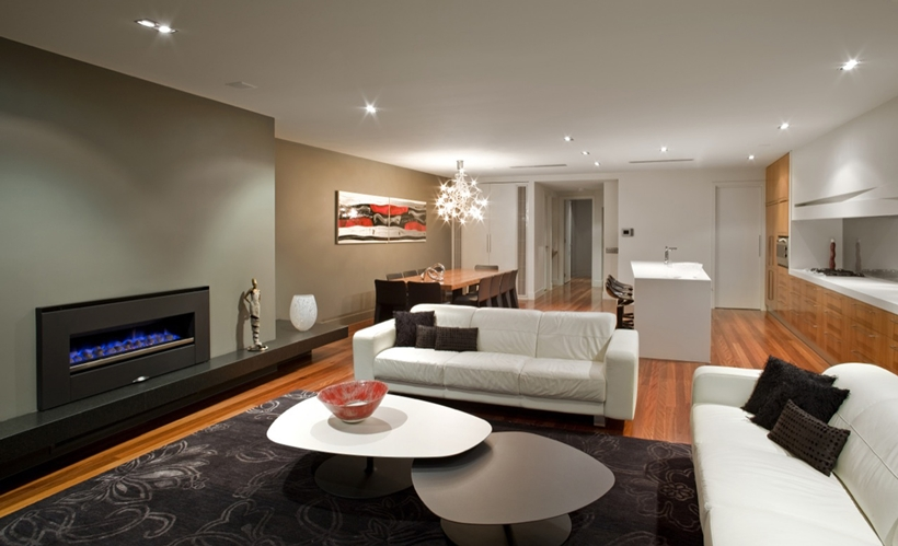 Modern living room by Finnis Architects