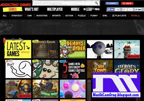 situs Game online terbaik addictinggames